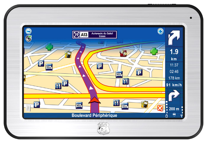 GPS-навигаторы - ROUTE 66 Maxi