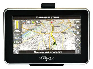 GPS-навигаторы - Starway Touch